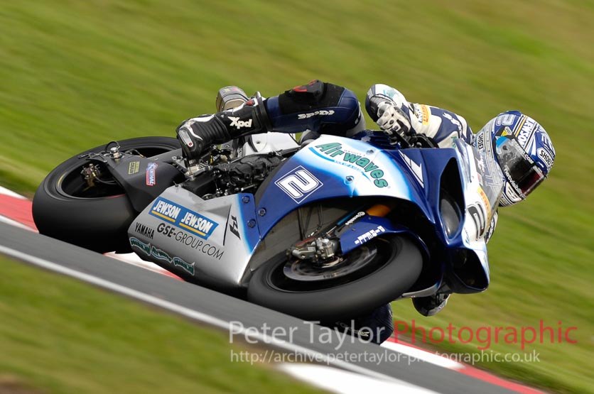 Leon Camier – Airwaves Yamaha – Oulton Park October 2009